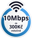 - 300Kč / měsíčně